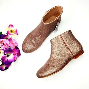NWT Zara Size 7.5 Sparkly Ankle Booties